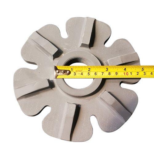 Silicon nitride degassing rotor