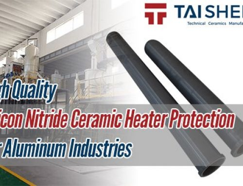 High Quality Silicon Nitride Ceramic Heater Protection For Aluminum Industries